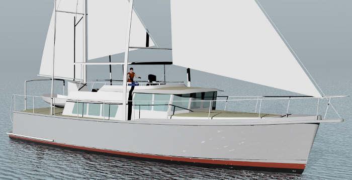 About the passagemaker lite design series yacht designer for William garden boat designs